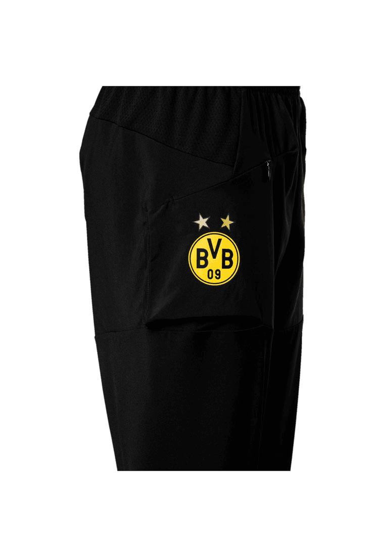 ad4f1a93b99 Puma BVB kinderen trainingsbroek Stadium Pro Pants zwart/geel Afbeelding 3