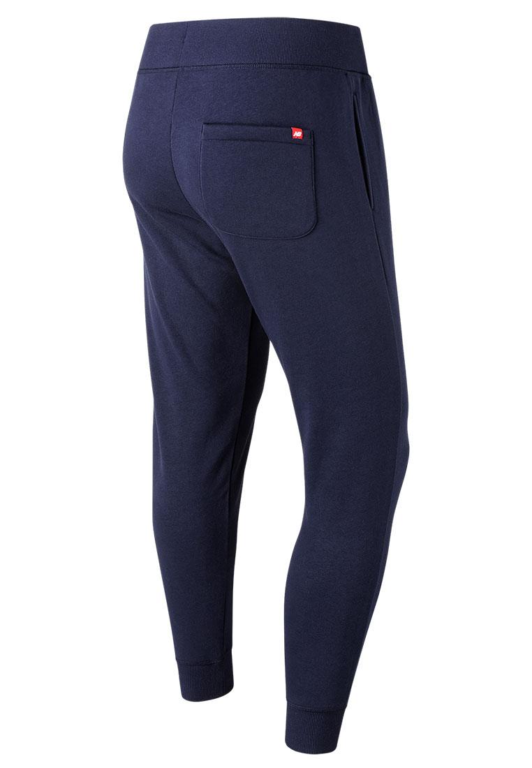 New Balance Jogginghose Essentials Stacked Logo Sweat Pants dunkelblauweiß