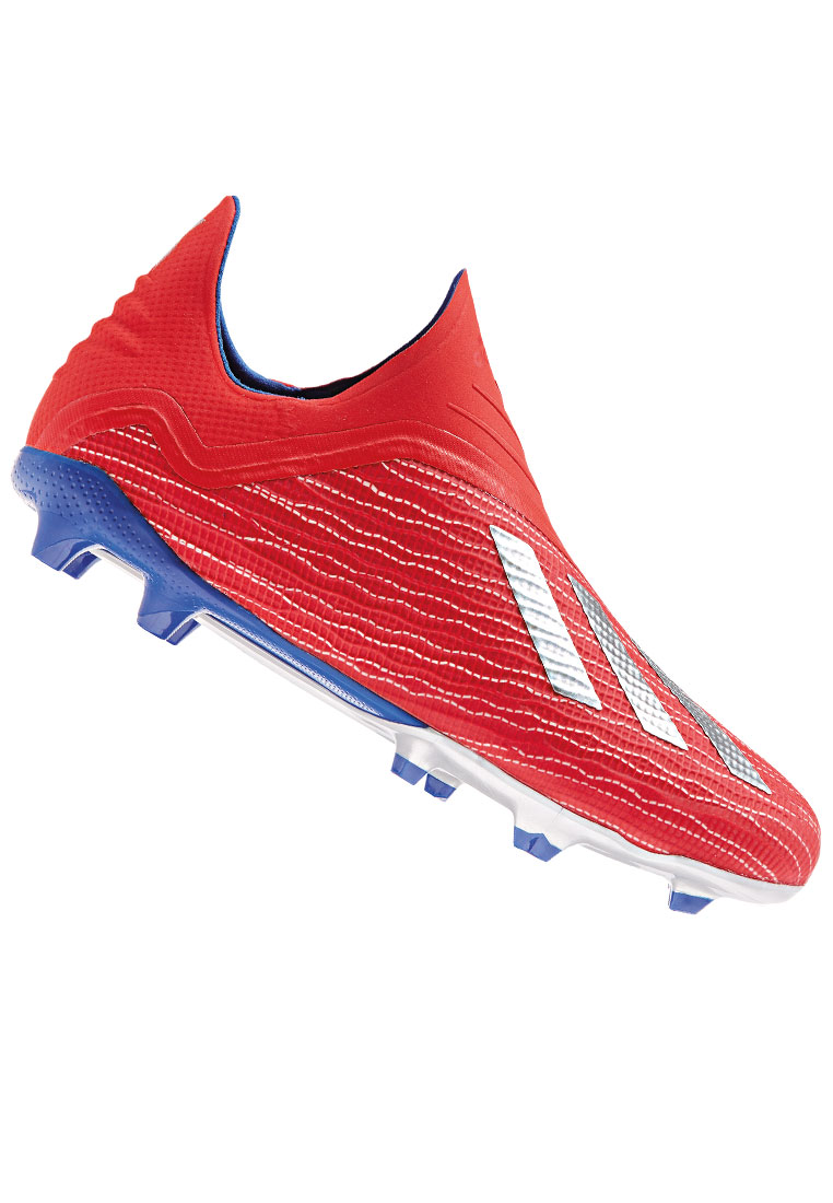 346753b2affa44 adidas Kinder Fußballschuh X 18+ FG J rot silber - Fussball Shop
