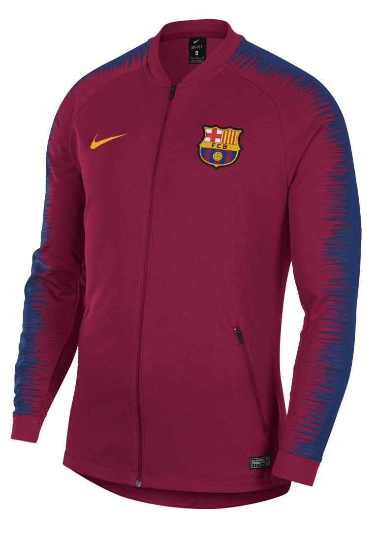 Nike FC Barcelona Fanjacke Anthem dunkelrotdunkelblau