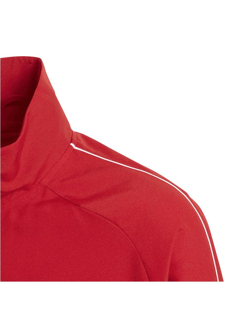 adidas Kinder Präsentationsjacke Core 18 rotweiß Fussball