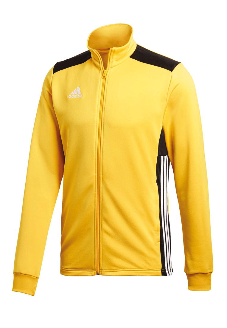 authentic various colors sleek adidas Trainingsjacke Regista 18 gelb/schwarz