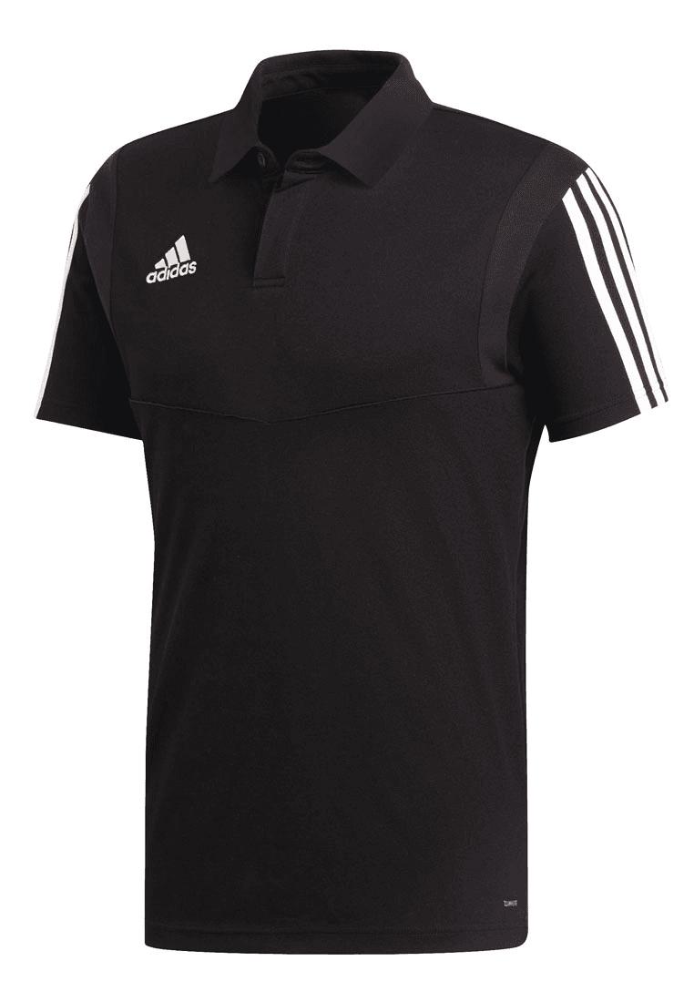 adidas Poloshirt Tiro 19 CO schwarzweiß Fussball Shop