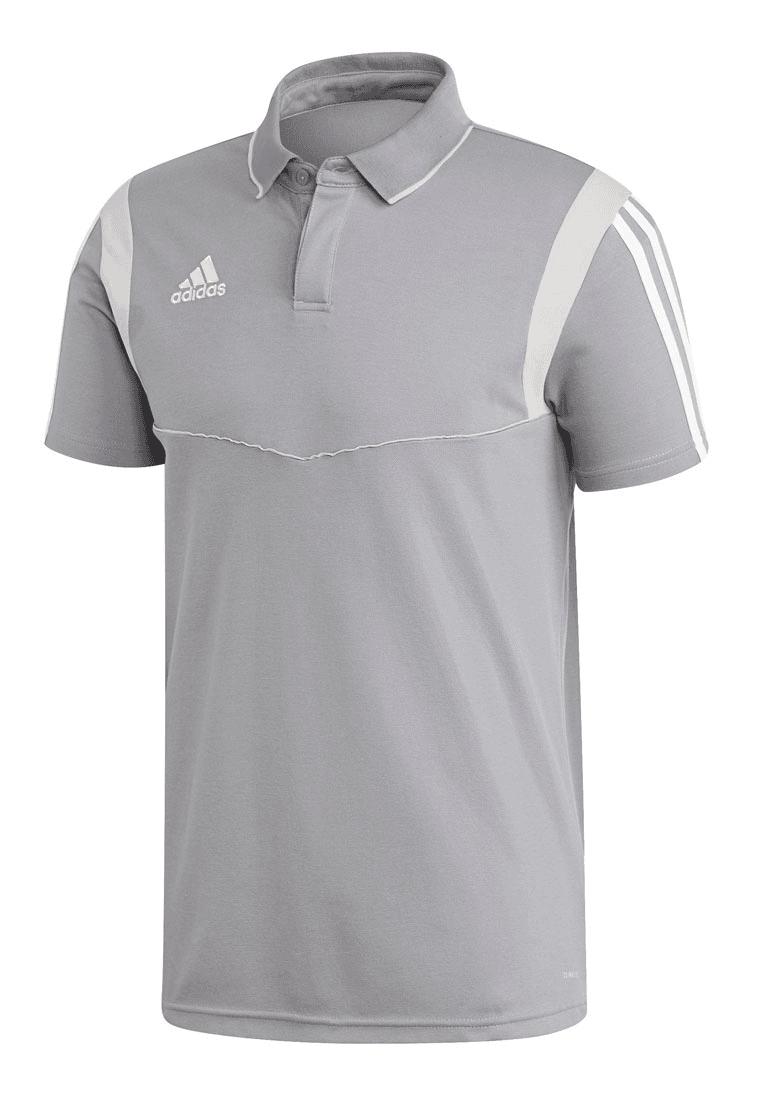 adidas Poloshirt Tiro 19 CO grauweiß