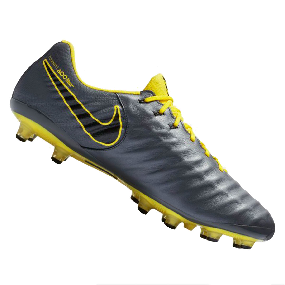 Nike Fußballschuh Tiempo Legend VII Elite AG Pro Kunstrasen dunkelgraugelb