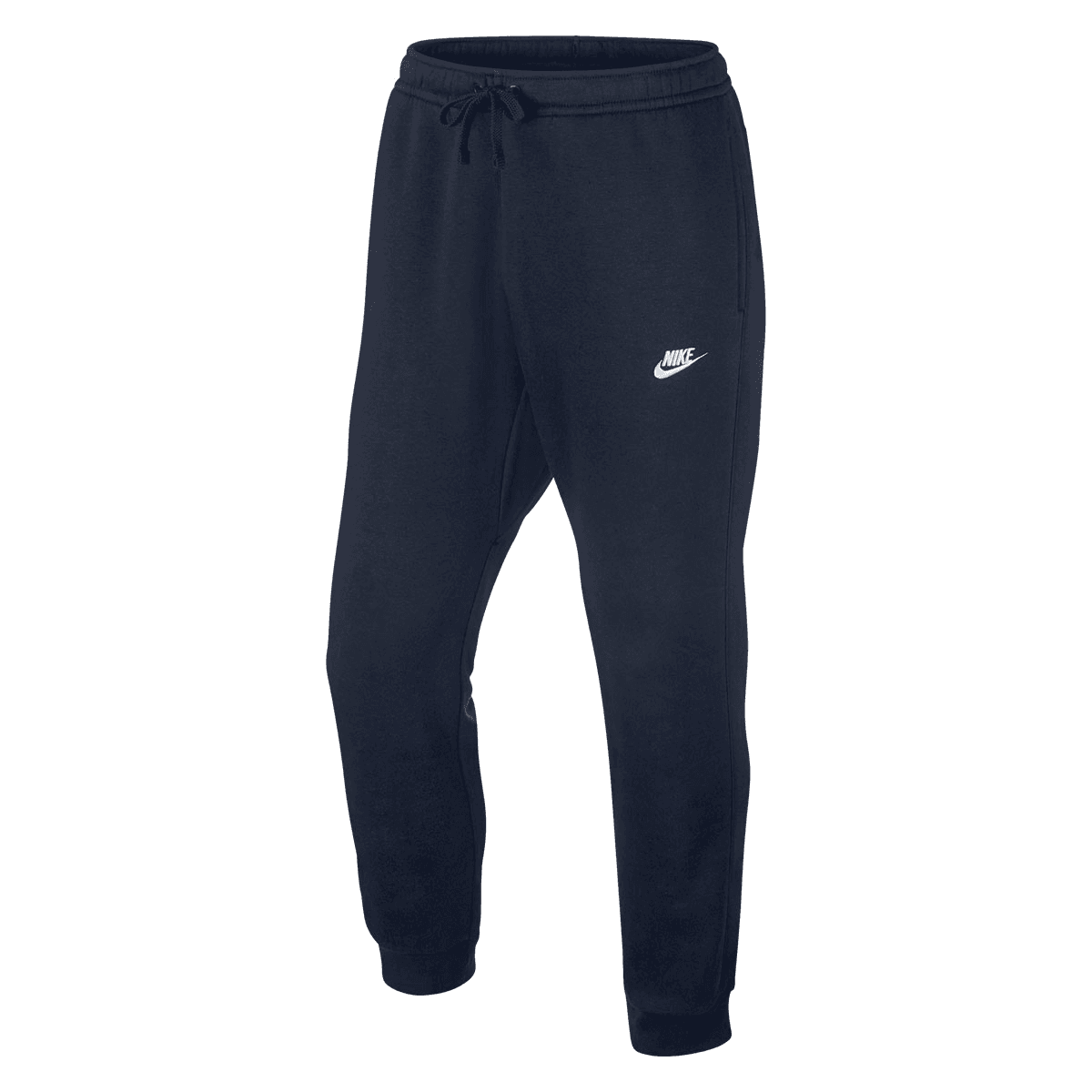 Nike Jogginghose Sportswear Club Crew Jogger BB dunkelblauweiß