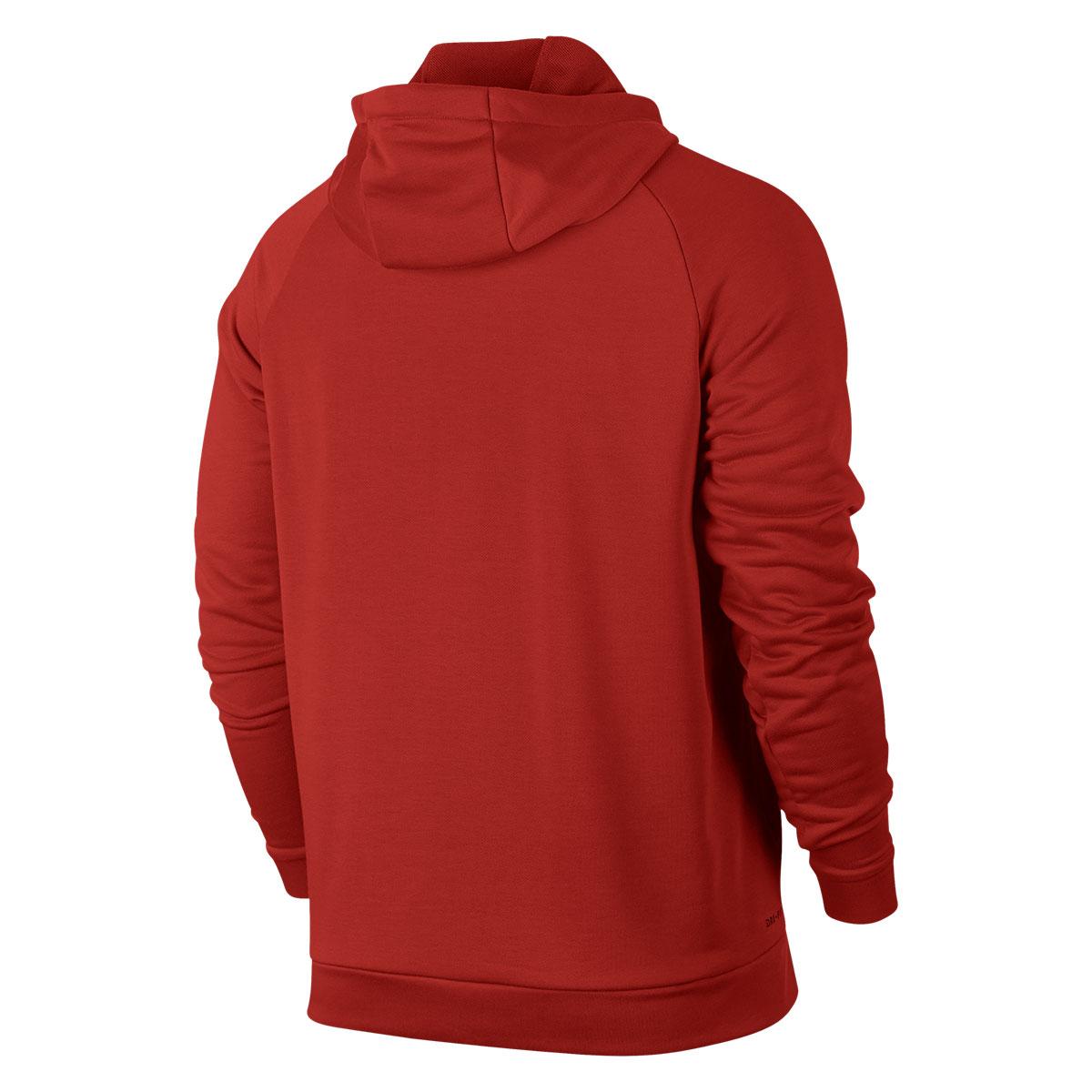 74a2c429a908d Nike Kapuzenpullover Training Hoody rot weiß - Fussball Shop