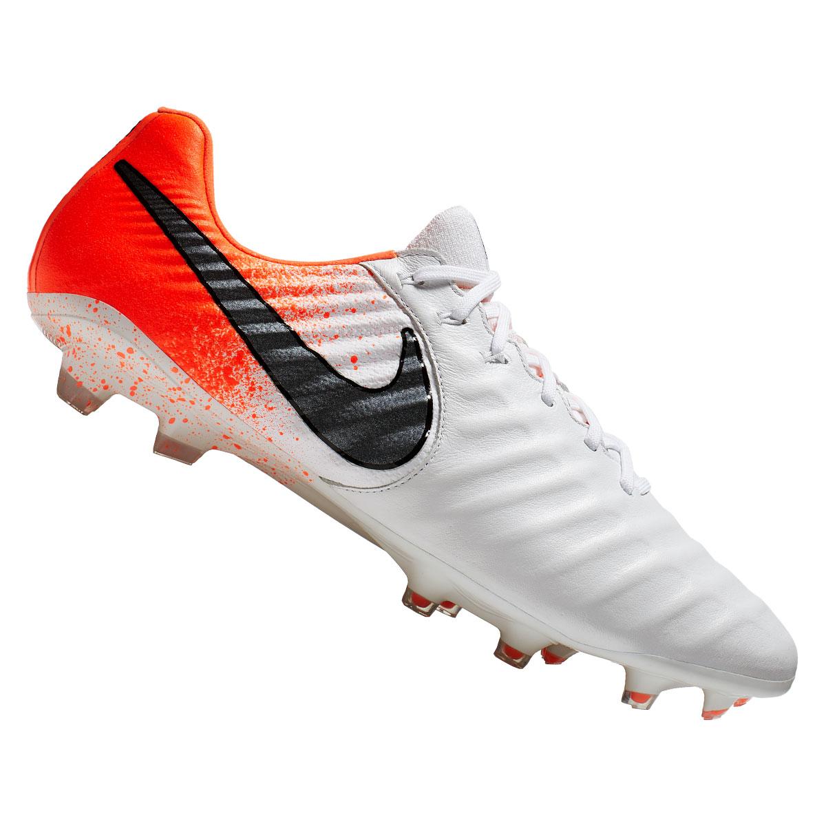 Nike Fußballschuh Tiempo Legend VII Elite FG weißrot