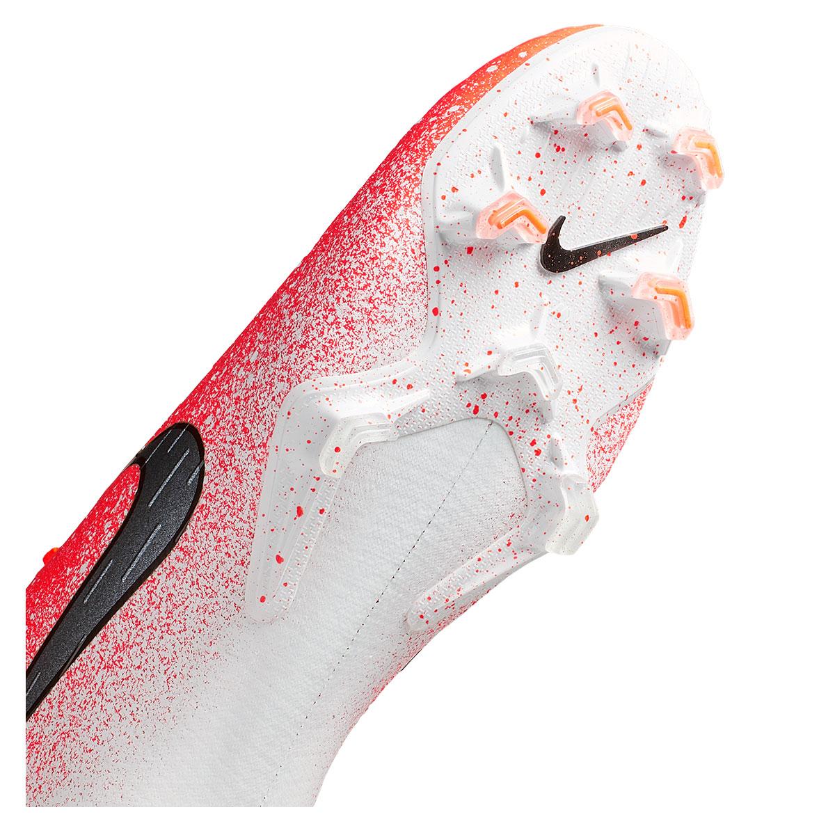Nike voetbalschoenen Mercurial Superfly VI Elite FG oranjewit