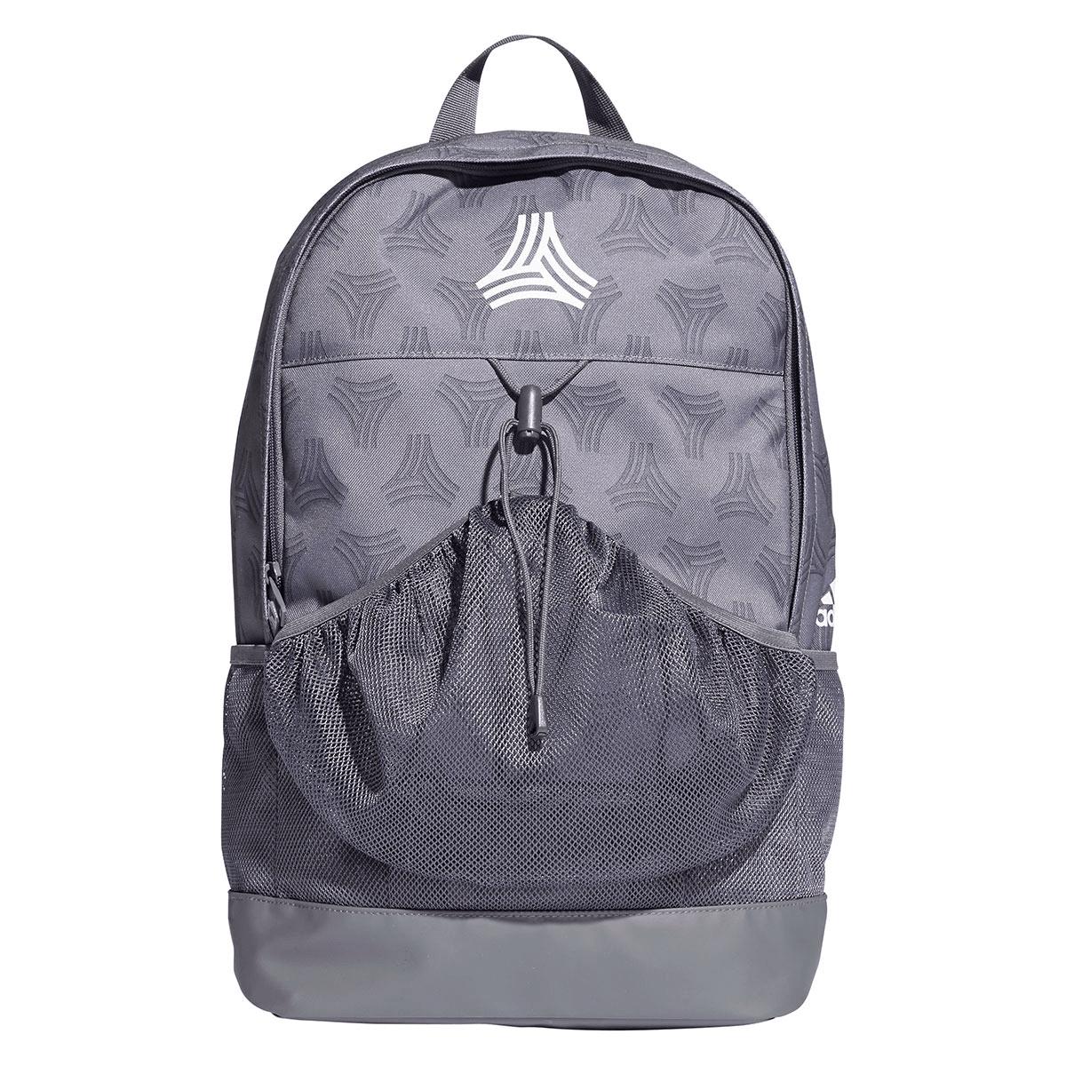 8e0deaf81e253 adidas Rucksack Football Street Backpack grau weiß - Fussball Shop