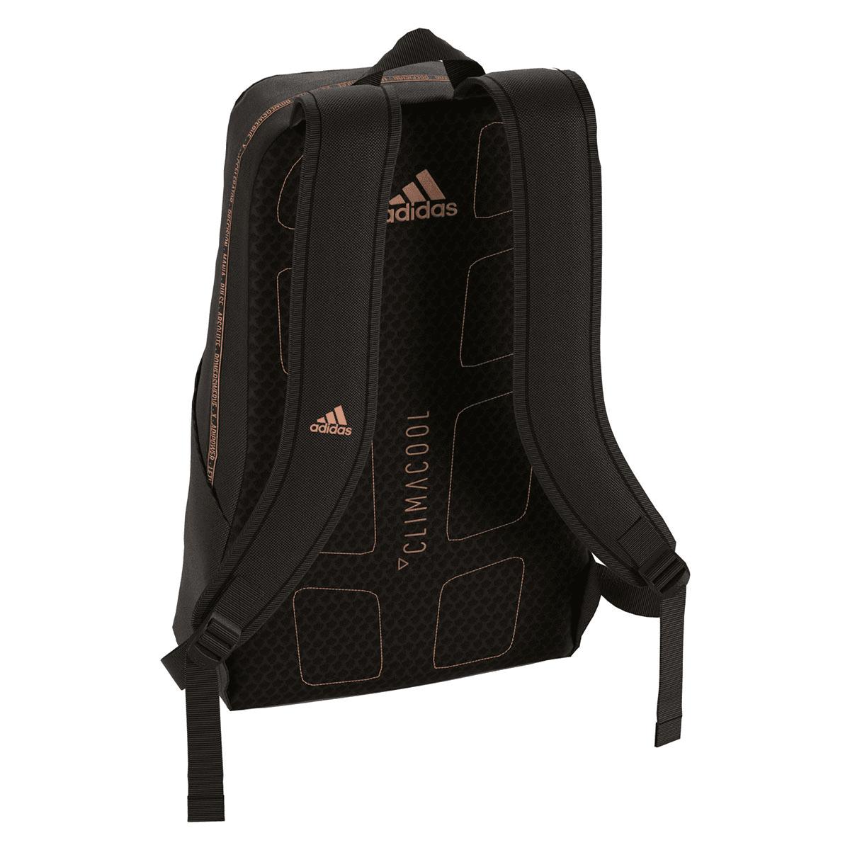 85cdd84558fe7 adidas Rucksack Football Icon Backpack schwarz bronze - Fussball Shop