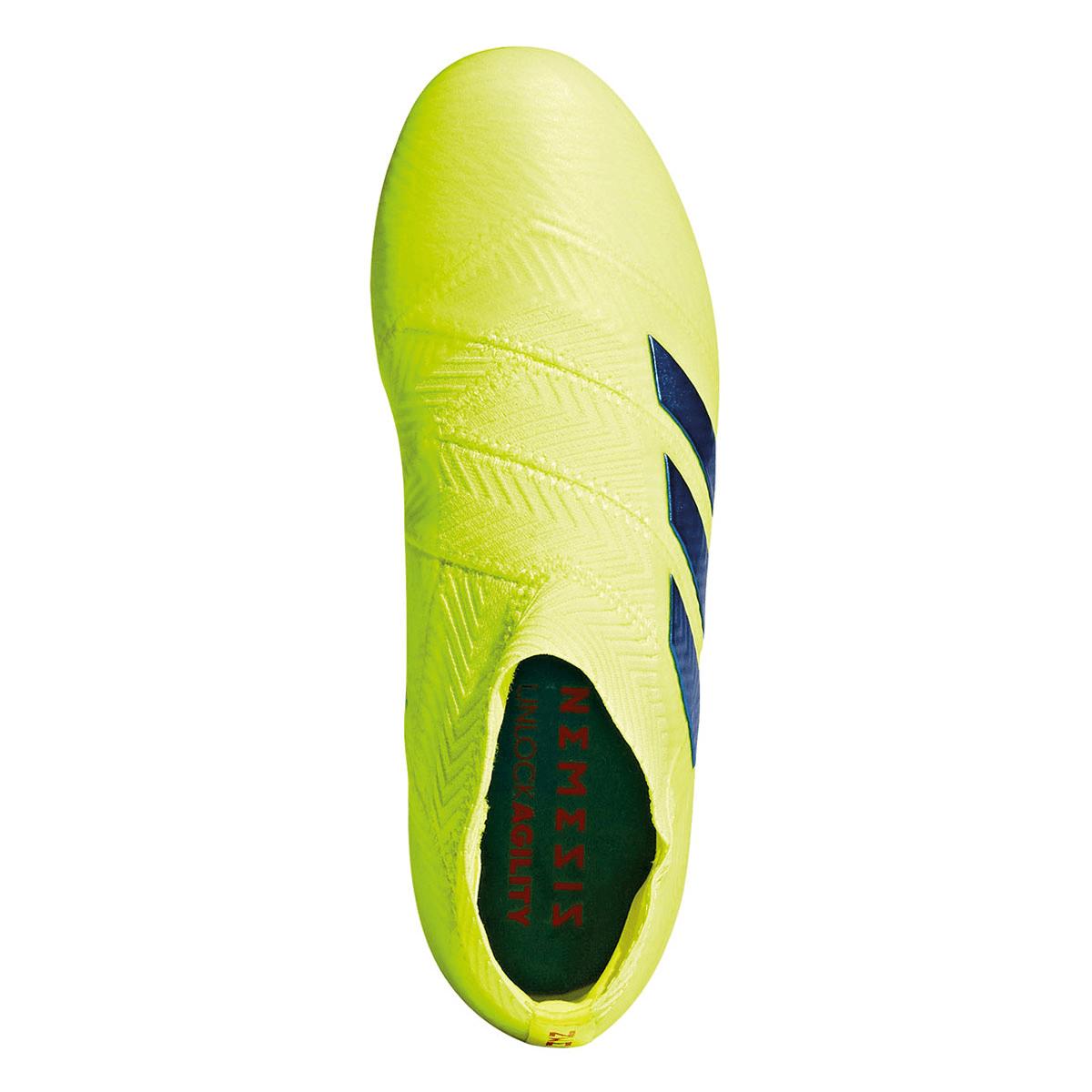 J adidas 18FG Fußballschuh Kinder fluoblau Nemeziz gelb pzqMSUV
