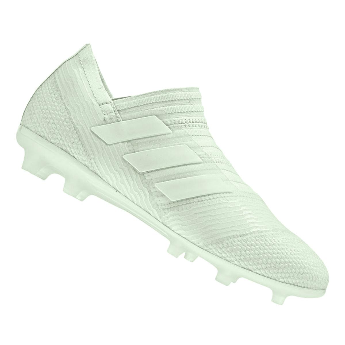 adidas Nemeziz 18+ FG Kinderfußballschuh silber | soccercity
