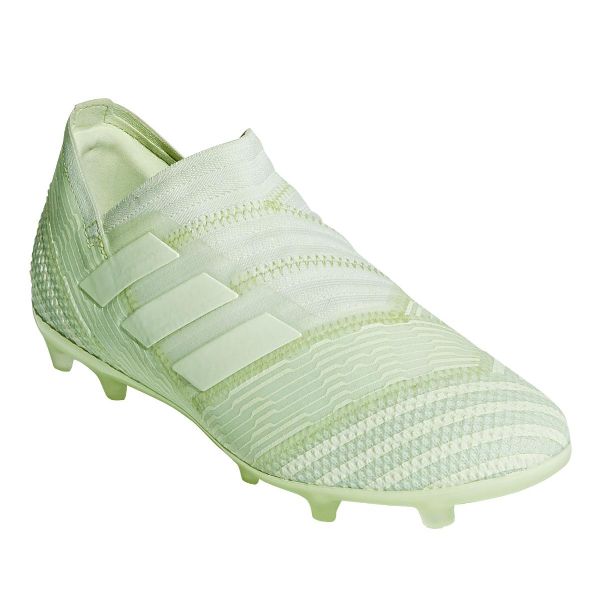 bfc1cdfec0d79e adidas Kinder Fußballschuh Nemeziz 17+ 360 Agility FG J  pastellgrün hellgrün Bild 4