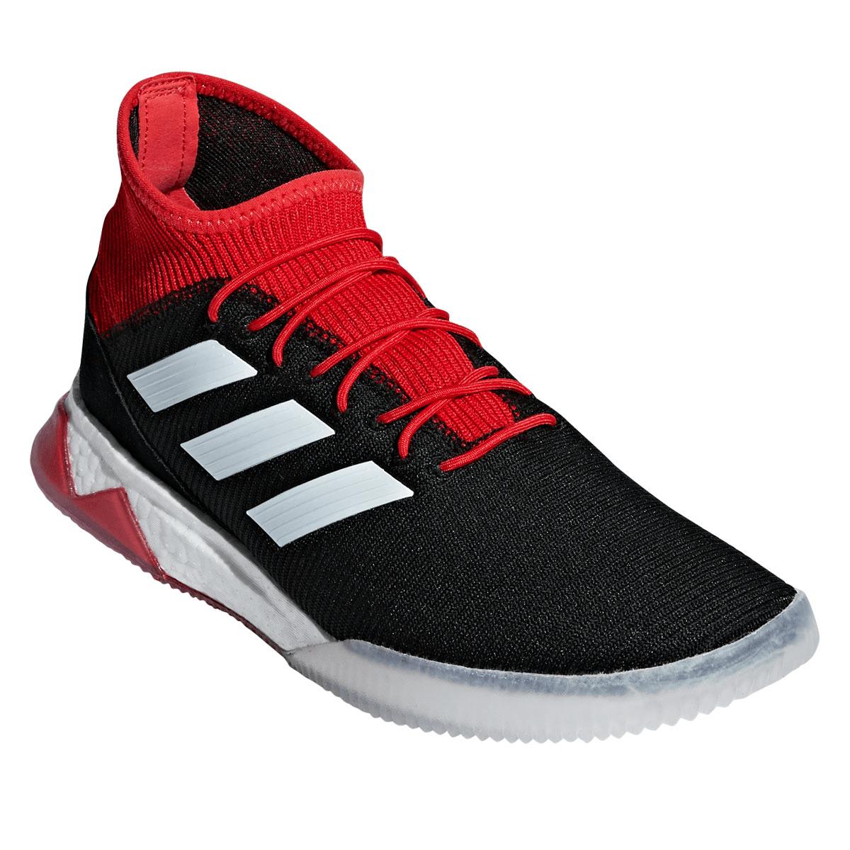 Adidas Predator Tango 18.1 TR Wit Grijs Zonne Rood