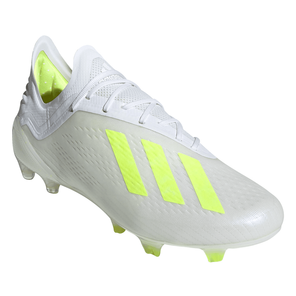 Adidas Fussballschuh X 18 1 Fg Weiss Gelb Fluo