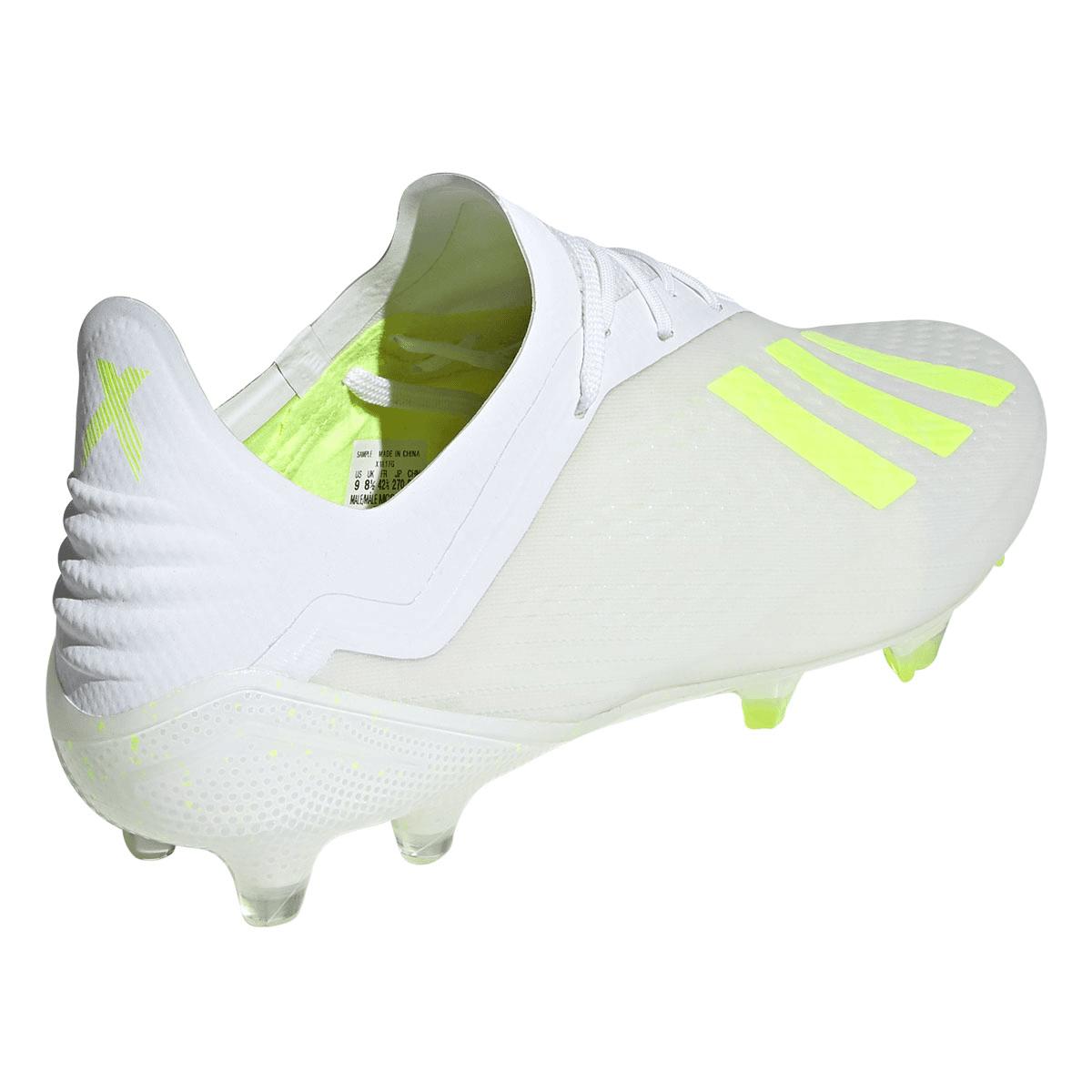 adidas Fußballschuh X 18.1 FG weiß/gelb fluo