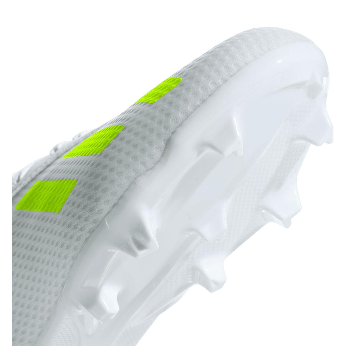 adidas Kinder Fußballschuh X 18.3 FG J weißgelb fluo