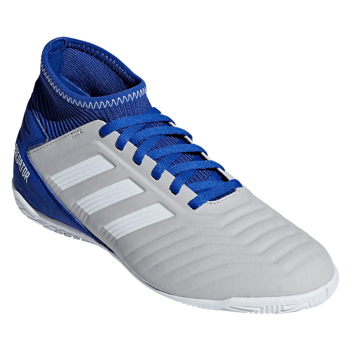 adidas Predator 19.3 IN J gyerek teremcipő szürkekék