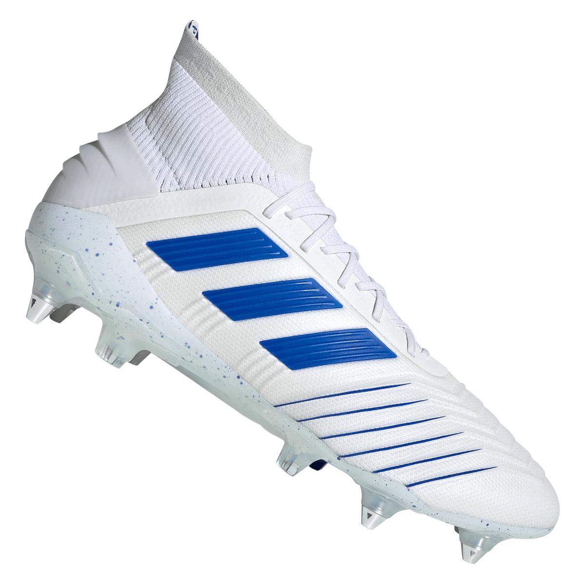 adidas Fußballschuh Predator 19.1 SG weißblau