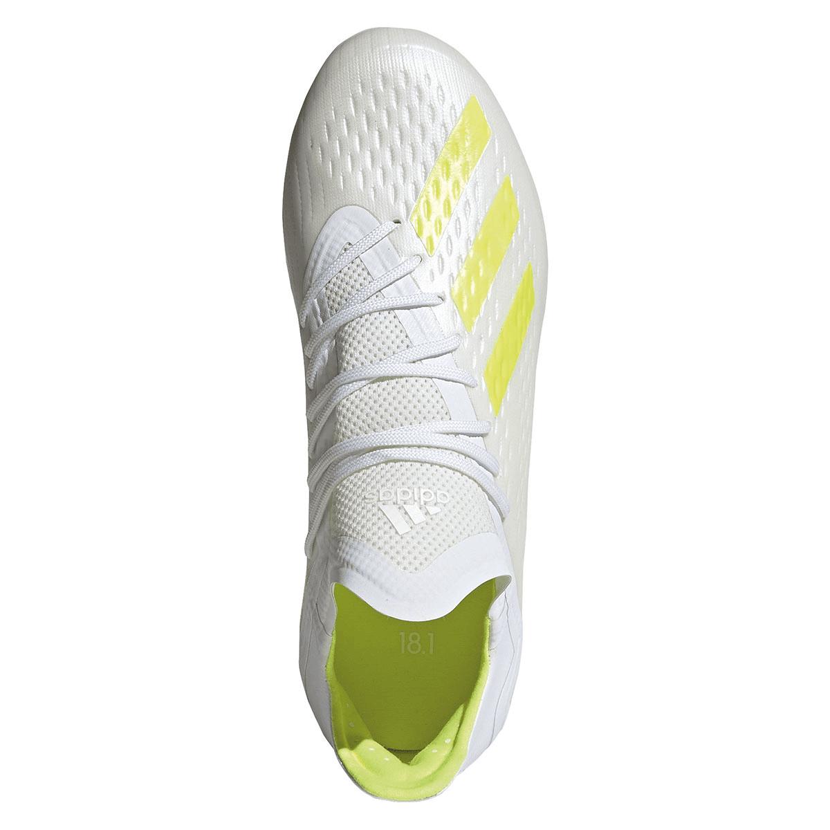 adidas Kinder Fußballschuh X 18.1 FG J weißgelb fluo