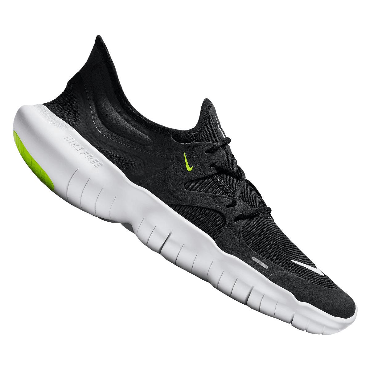 Nike Laufschuh Free Run 5.0 schwarzweiß