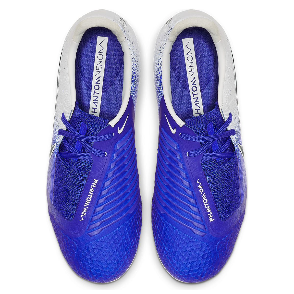 32cc1df33e4 Nike kinderen voetbalschoenen Phantom Venom JR Elite FG wit/blauw  Afbeelding 4