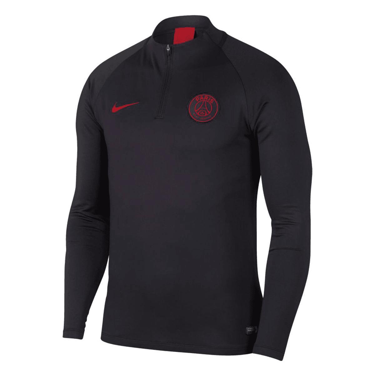 Nike Paris St. Germain trainingsjas Strike Drill Top antracietrood