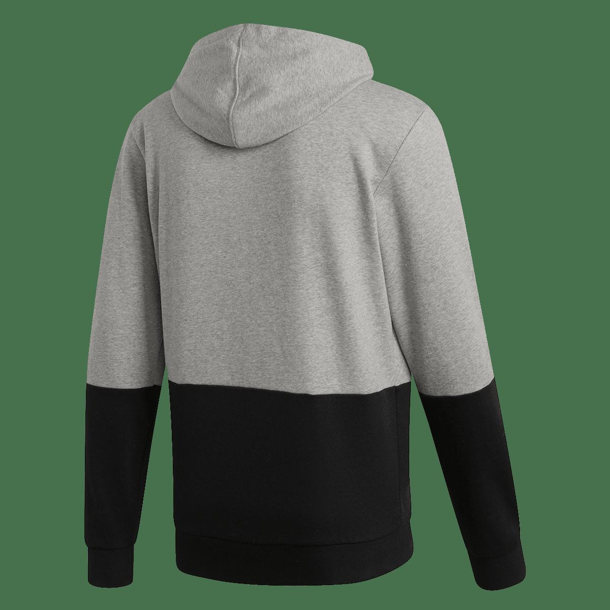 adidas bluza z kapturem Z.N.E. Hoody Fast Release Zipper czarnabiała