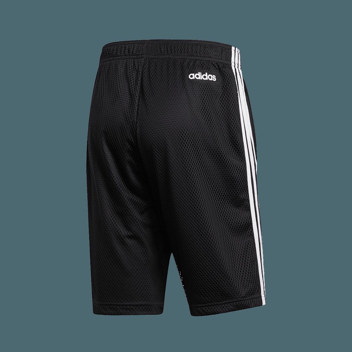 adidas Short Essentials 3S Mesh schwarzweiß
