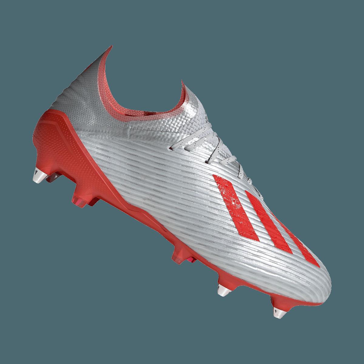 1 Fußballschuh X 19 Silberrot Adidas Sg 3R4jqAL5