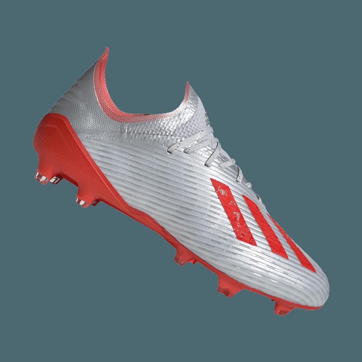 adidas Fußballschuh X 19.1 FG silberrot