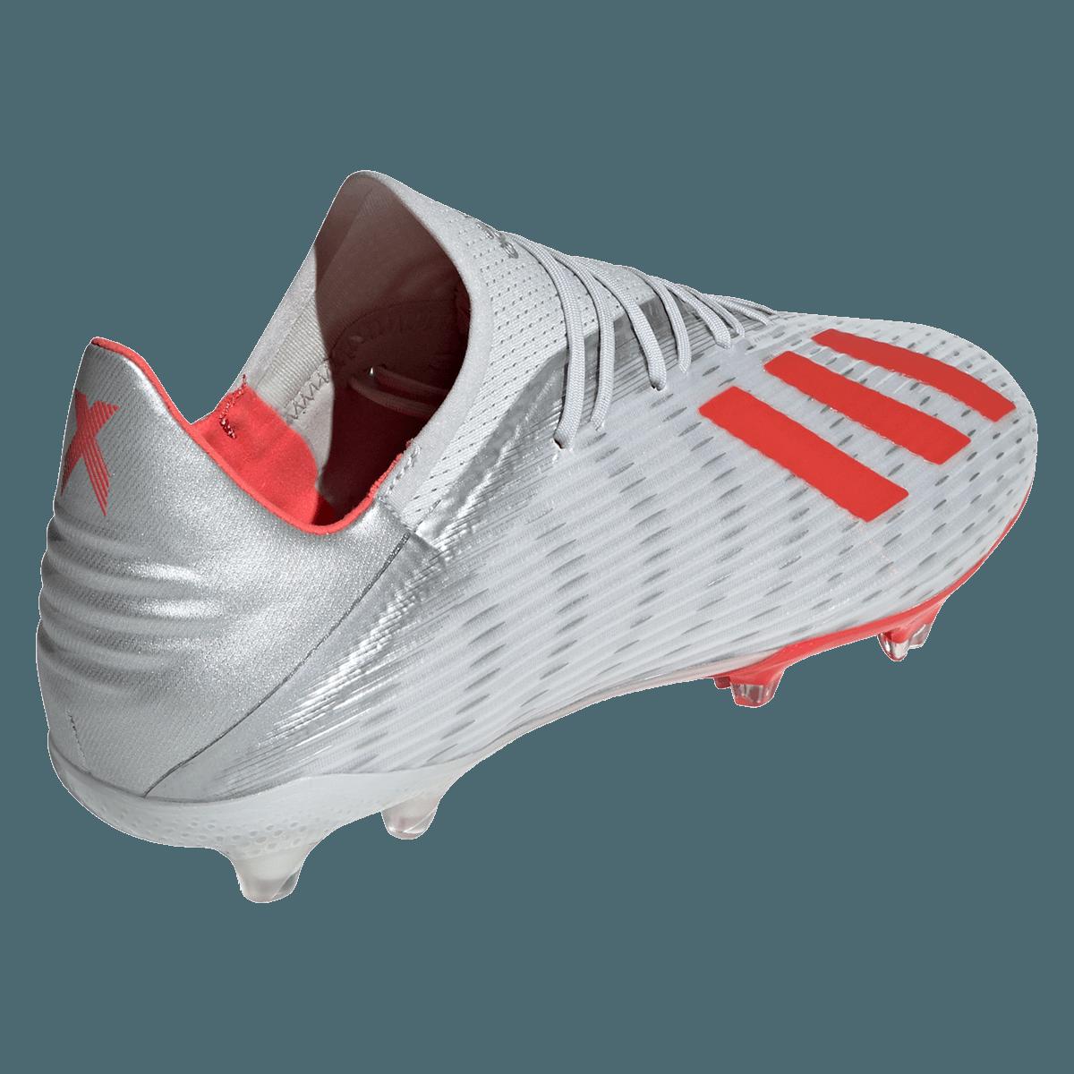 adidas voetbalschoenen X 19.2 FG zilverrood