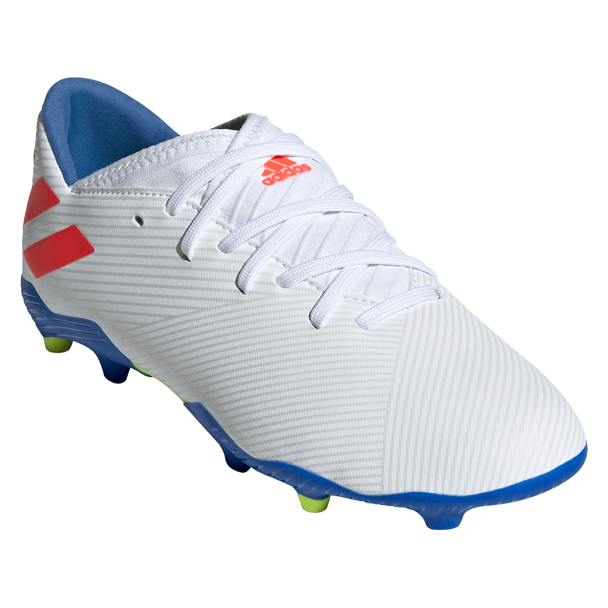 Adidas Nemeziz Messi 19.3 Fußballschuhe Jungen weiß rot im