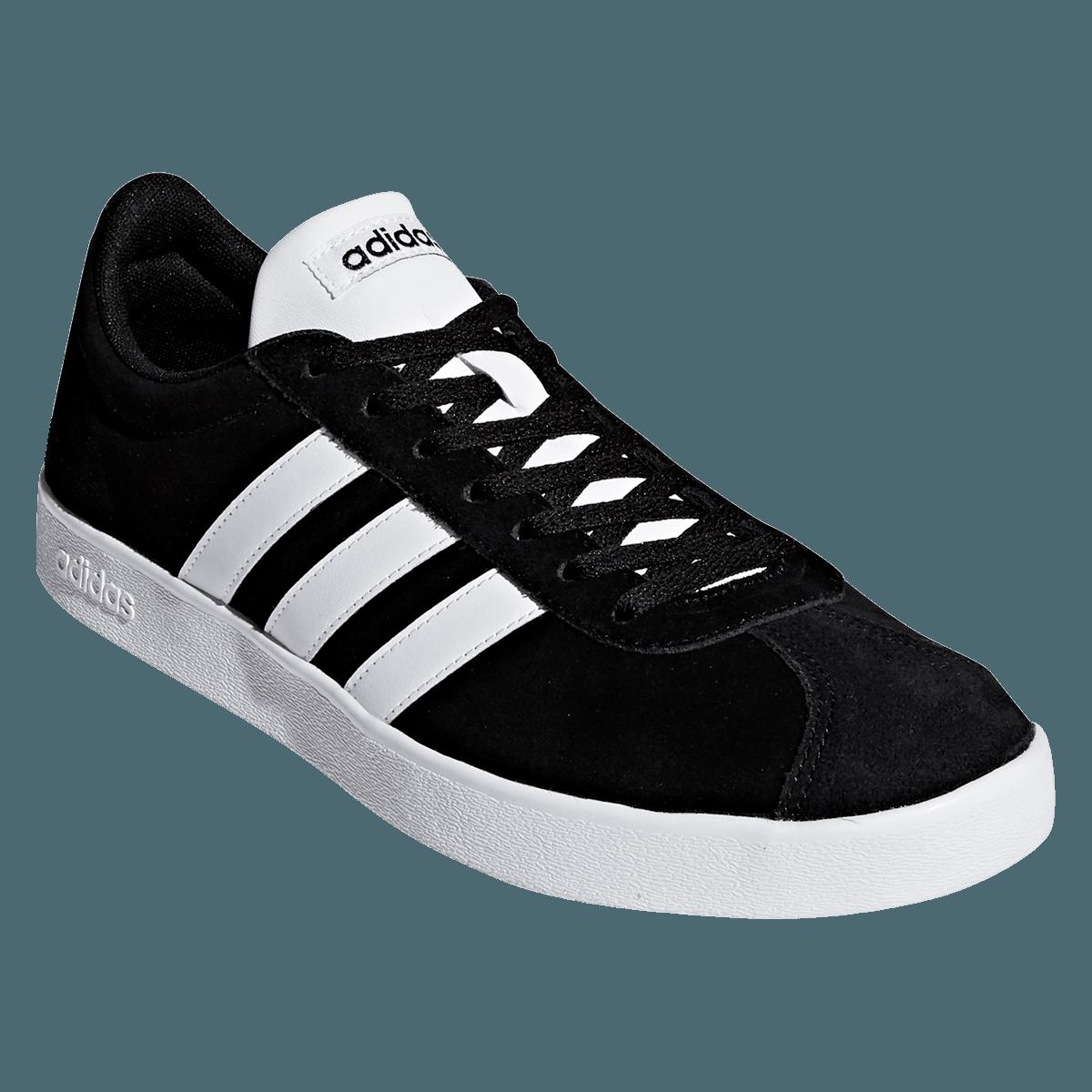 adidas Freizeitschuh VL Court 2.0 weißschwarz