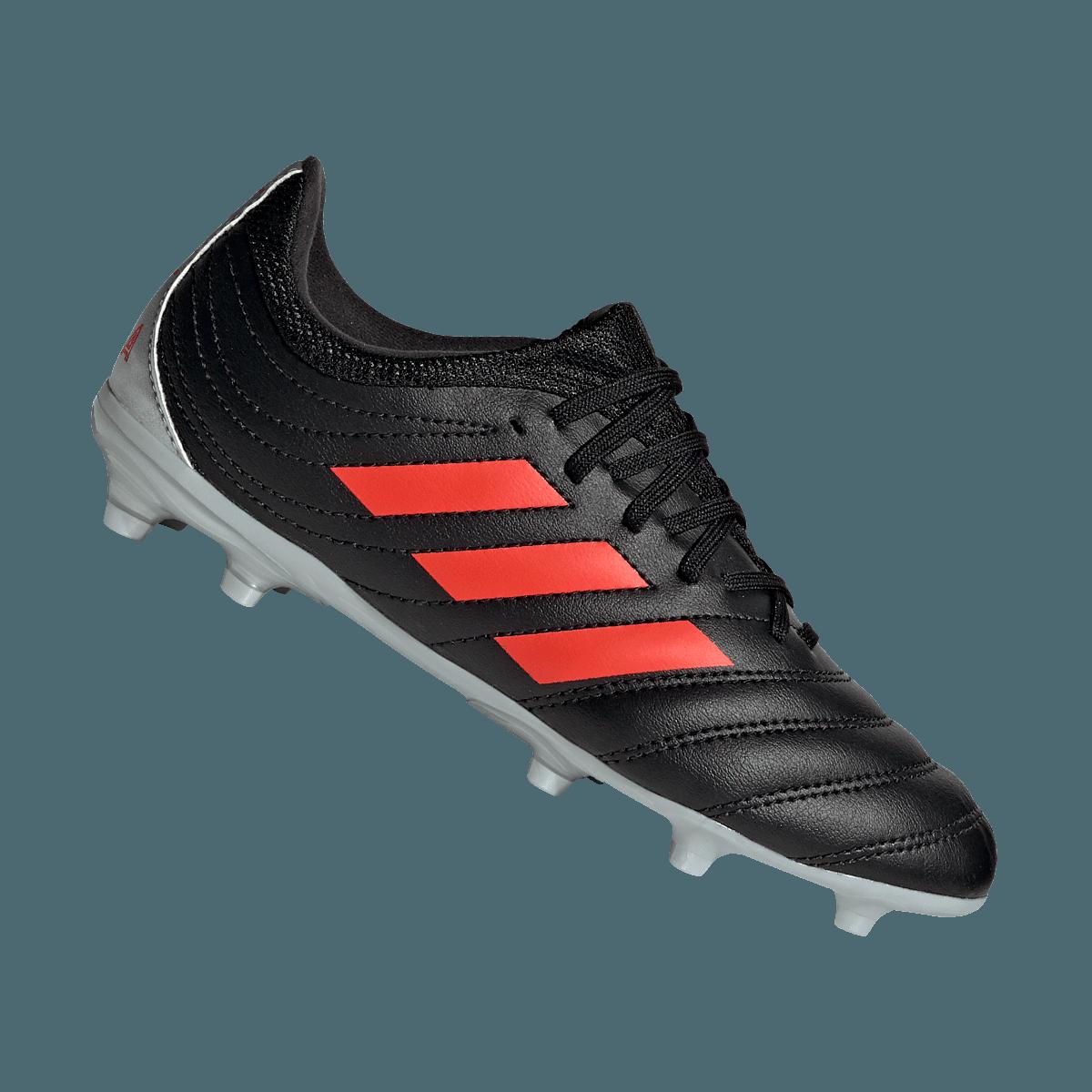 adidas Copa 19.3 FG J gyerek futballcipő feketepiros