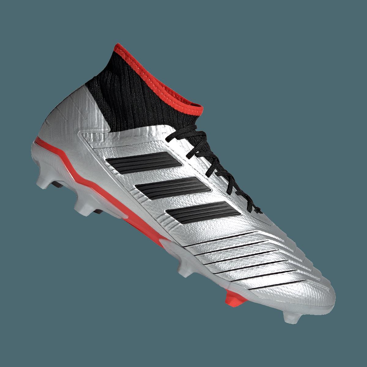 adidas voetbalschoenen Predator 19.2 FG zilverzwart Voetbal shop
