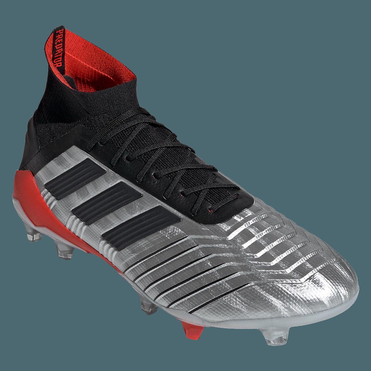 19 Adidas Silberschwarz Fußballschuh Predator 1 Fg I76gyfvYb