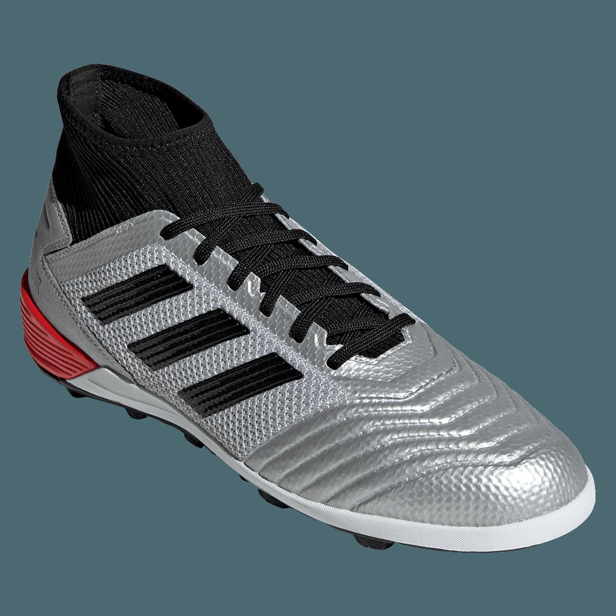 Adidas Fussballschuh Predator 19 3 Tf Kunstrasen Silber Schwarz