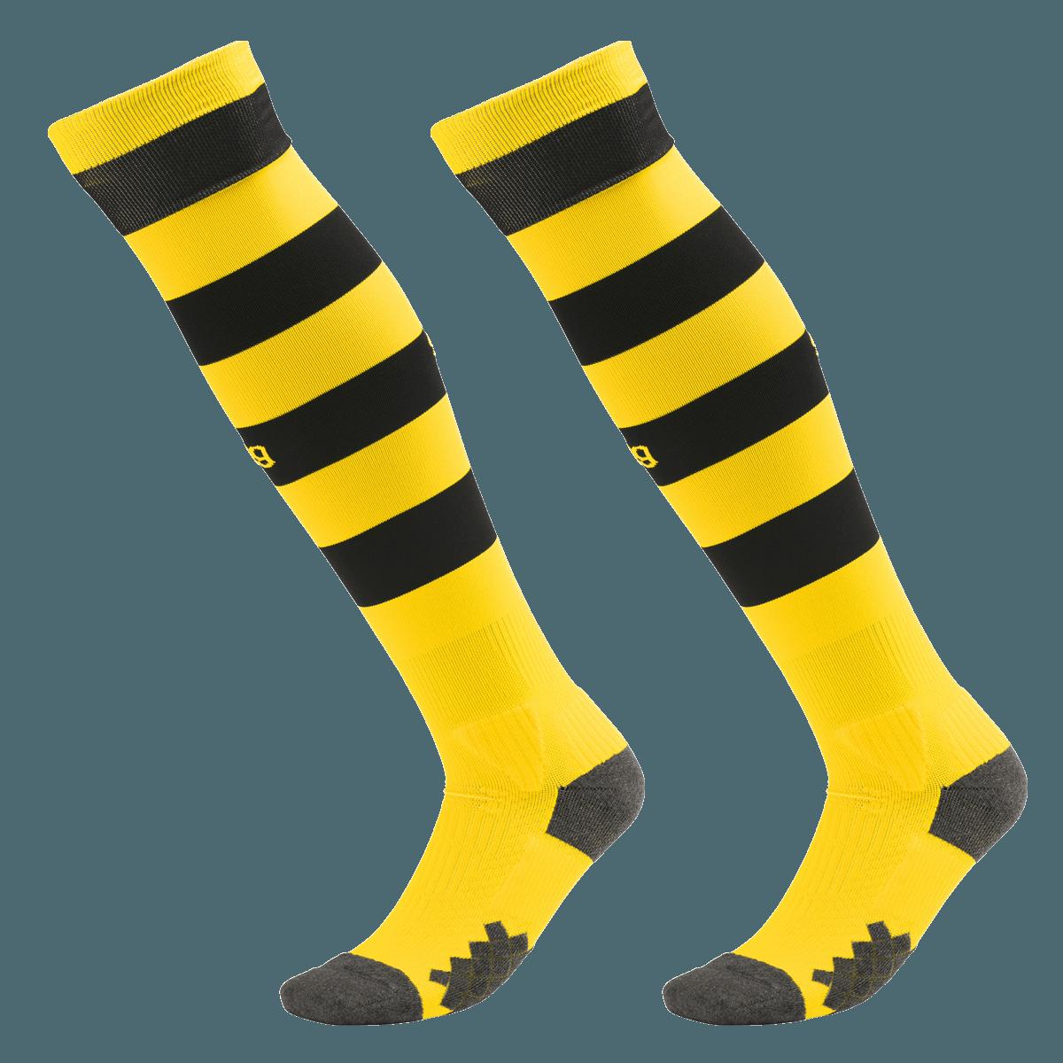 Puma Offiziell Kinder BVB Borussia Dortmund Heim Fußball Socken Stutzen 2019-20