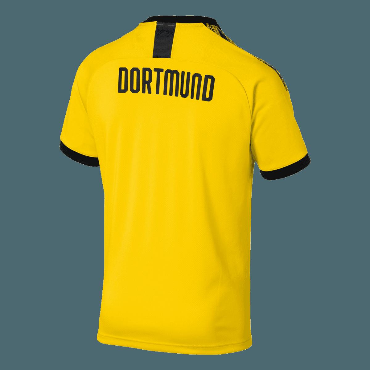 Puma BVB Herren Heim Trikot 201920 gelbschwarz