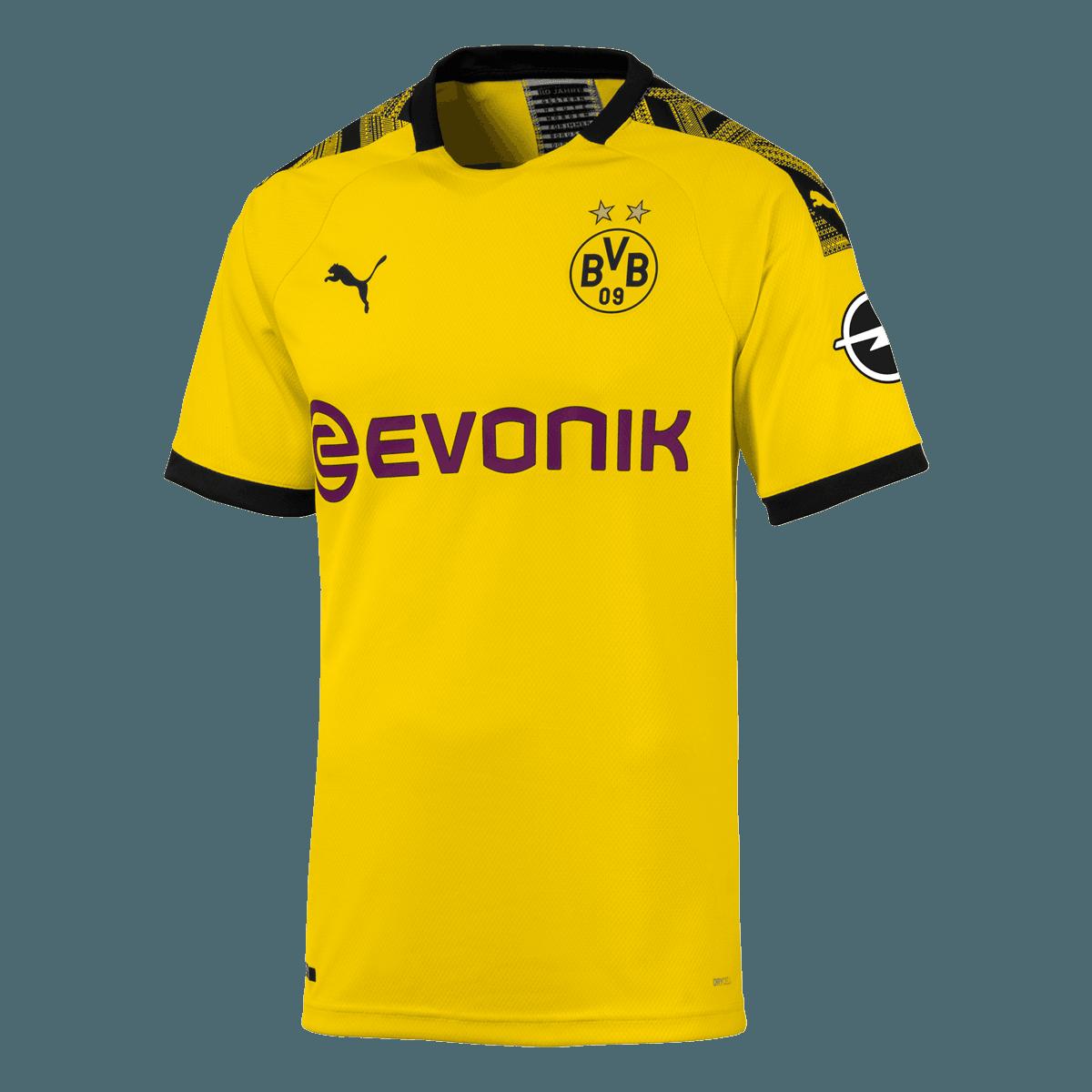 Puma BVB Herren Heim Trikot Authentic 201920 gelbschwarz