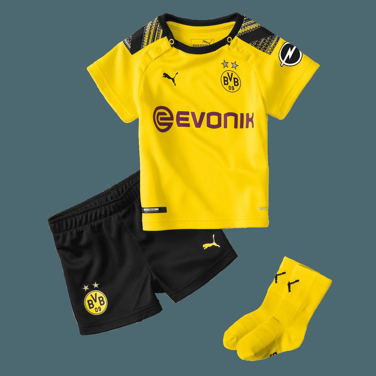 Puma BVB Baby Heim Kit 201920 gelbschwarz