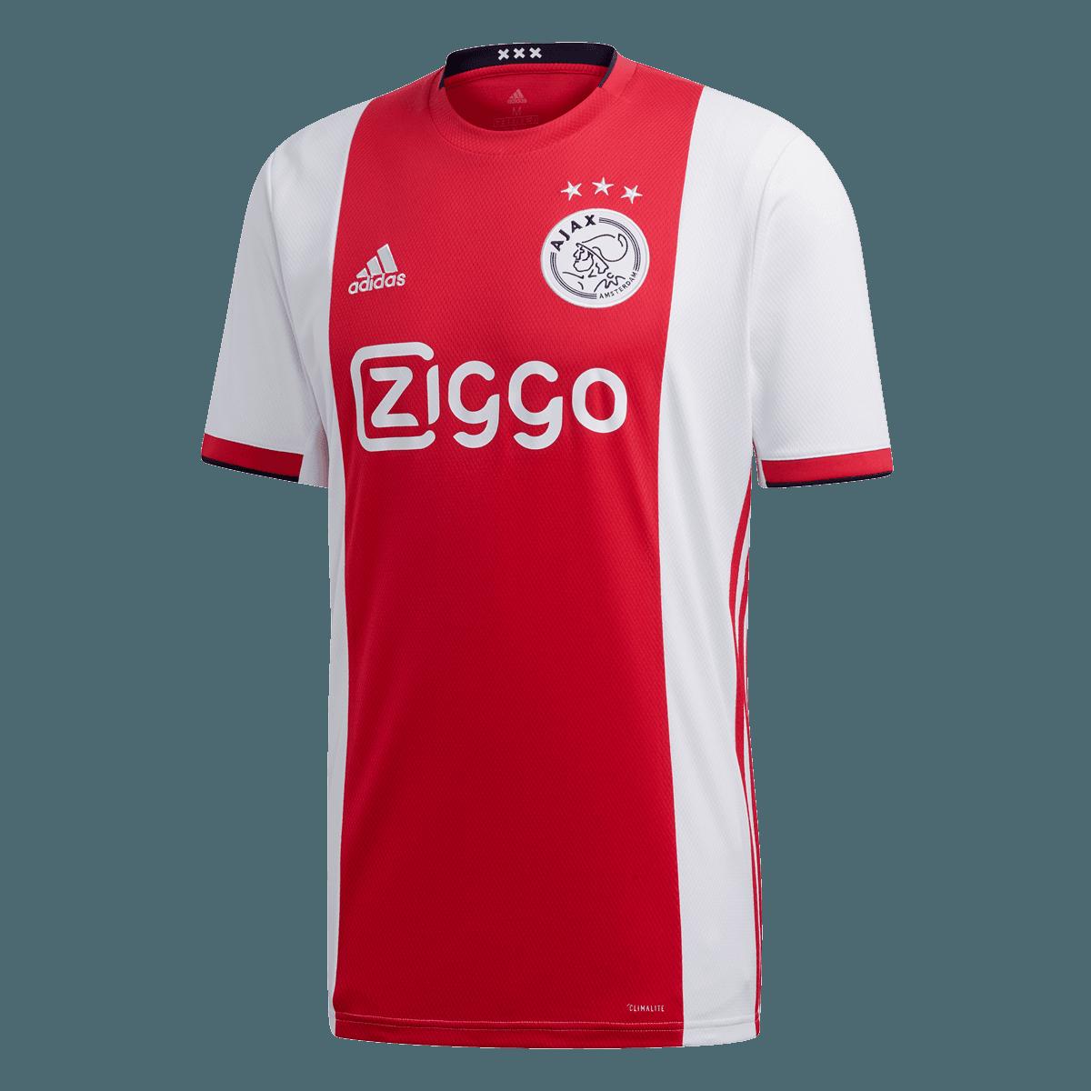 adidas Ajax Amsterdam Crew Neck pulóver sötétszürkepiros Futball áruház