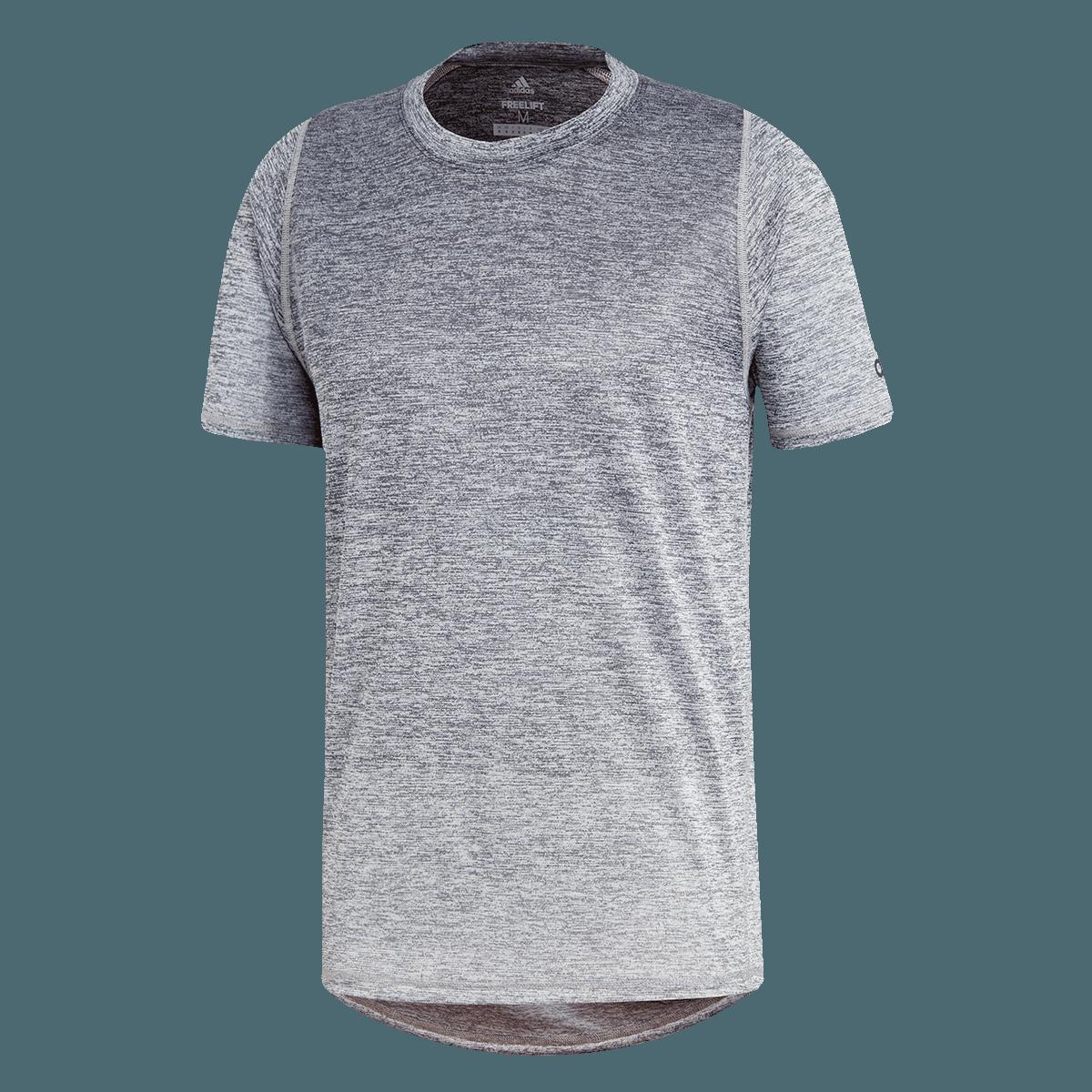 adidas Trainingsshirt Freelift 360 Gradient Graphic Tee grauweiß