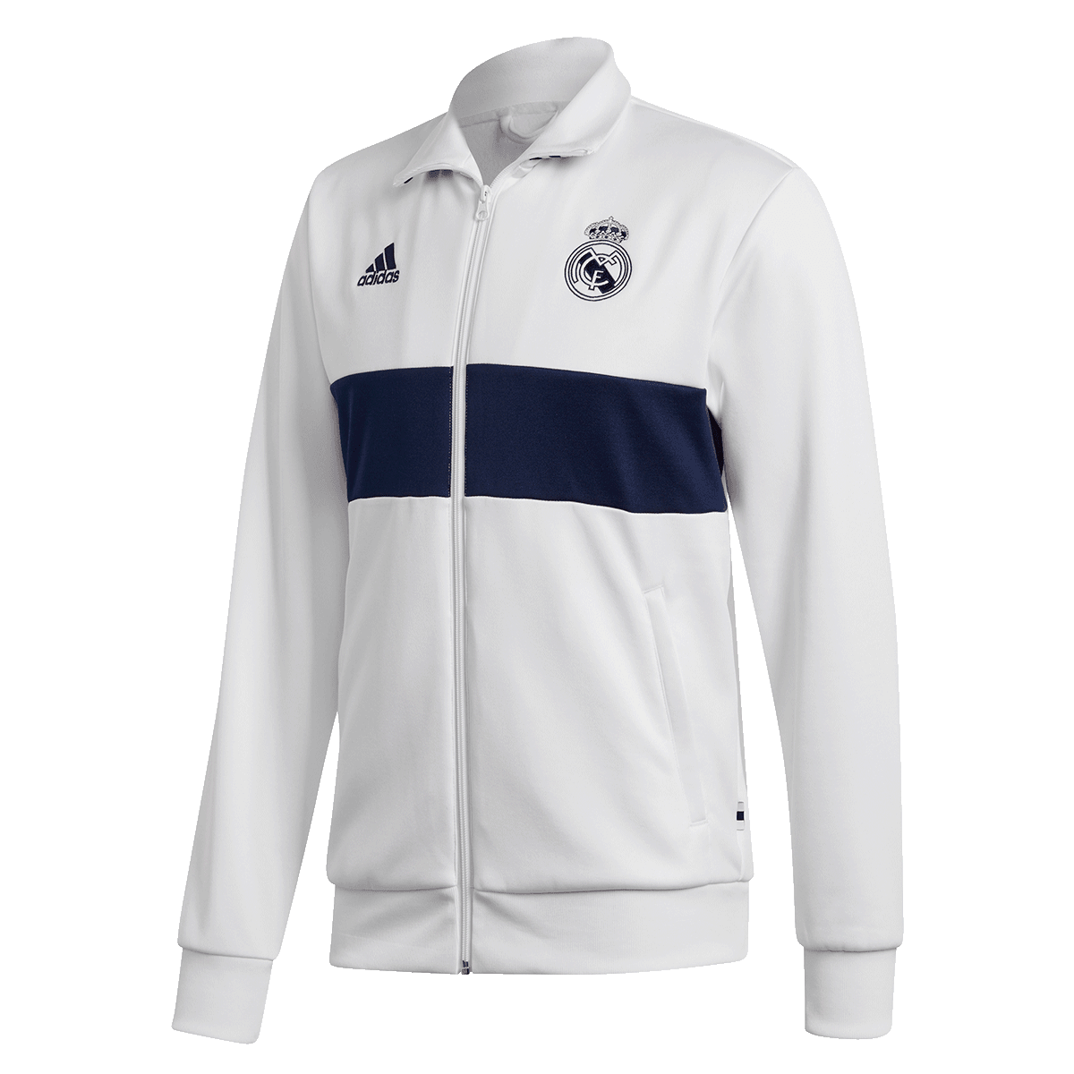 adidas Real Madrid Trainingsjacke 3S Track Top weißdunkelblau