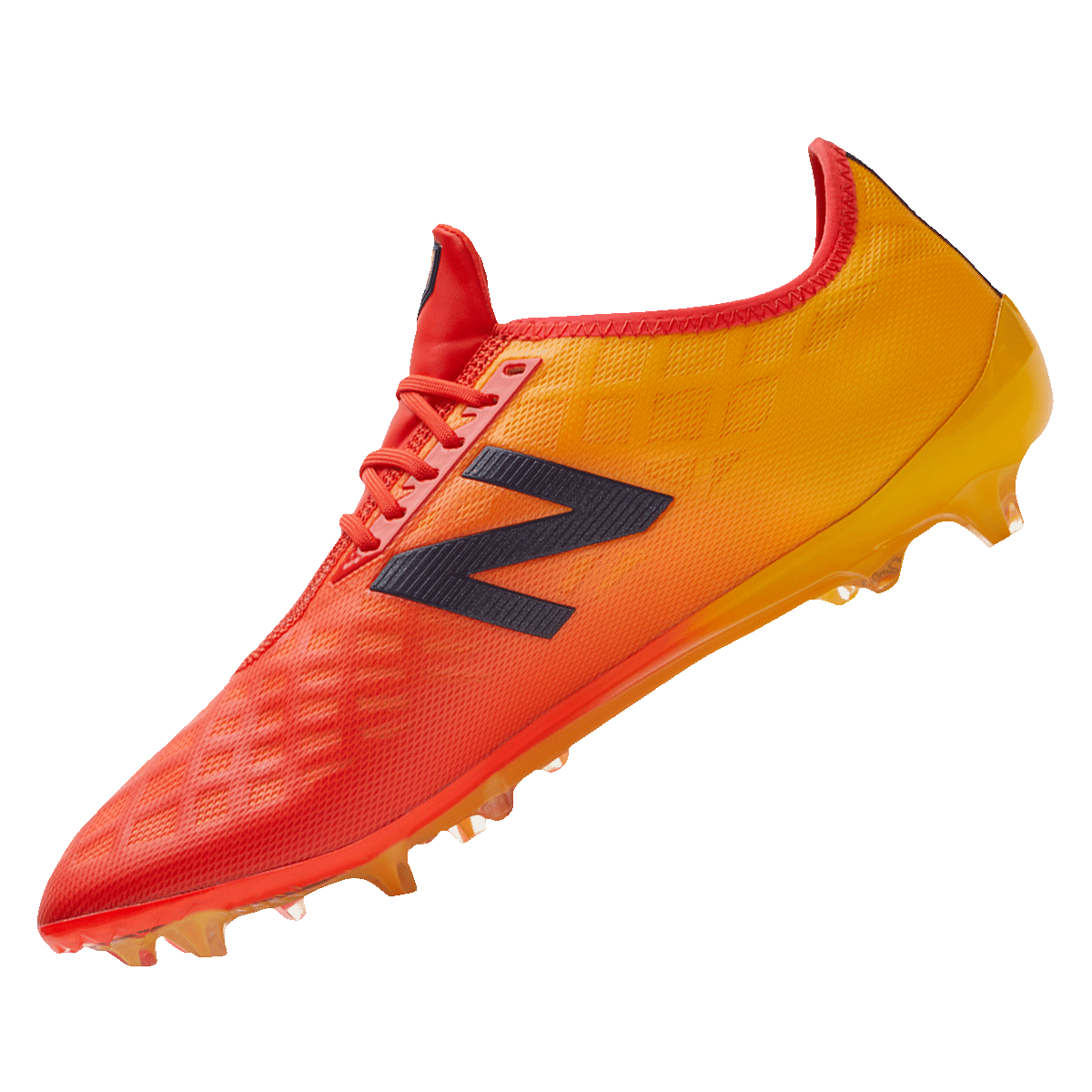 b7a59be0ccc0d1 New Balance voetbalschoenen Furon 4.0 Pro FG rood/oranje - Voetbal shop