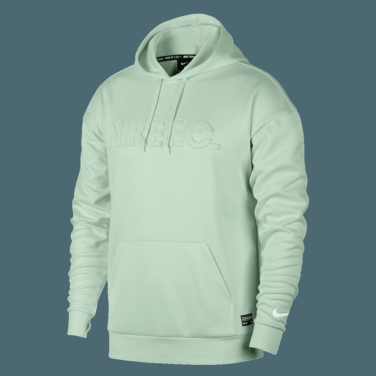 Nike Kapuzenpullover F.C. Football Hoody mintgrünweiß