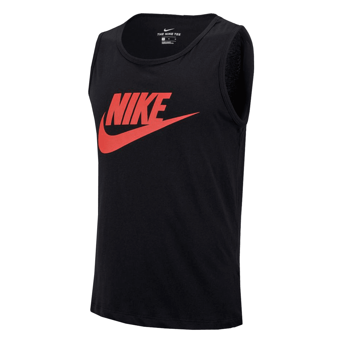 nike tank top sportswear icon futura dunkelgrau schwarz