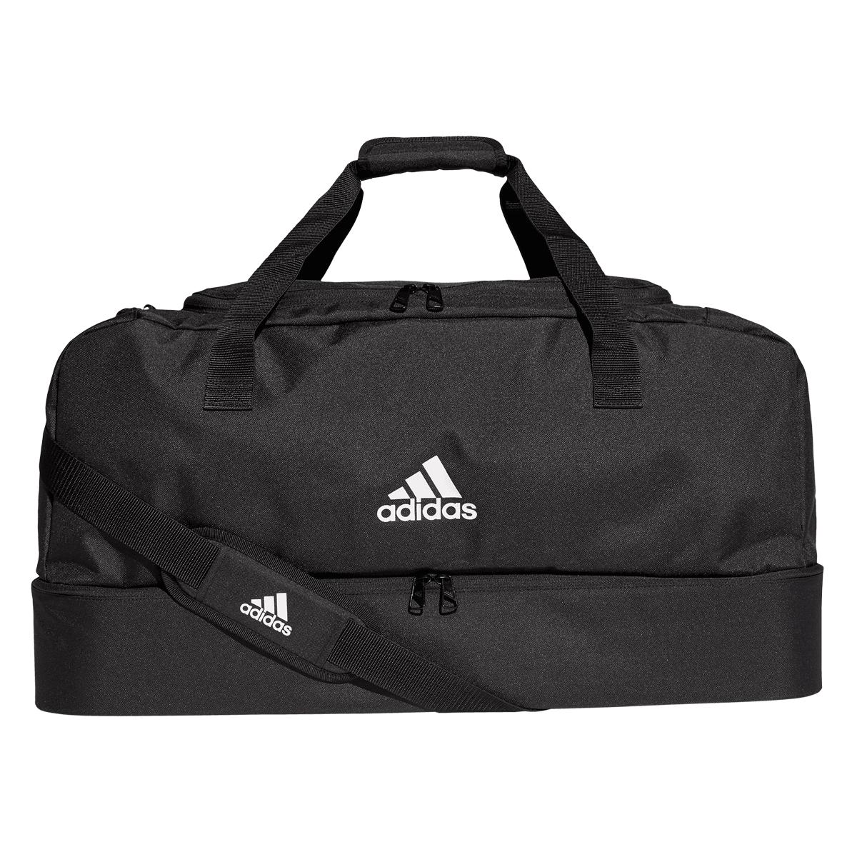 adidas Tiro Duffelbag Bottom Compartment sporttáska L feketefehér